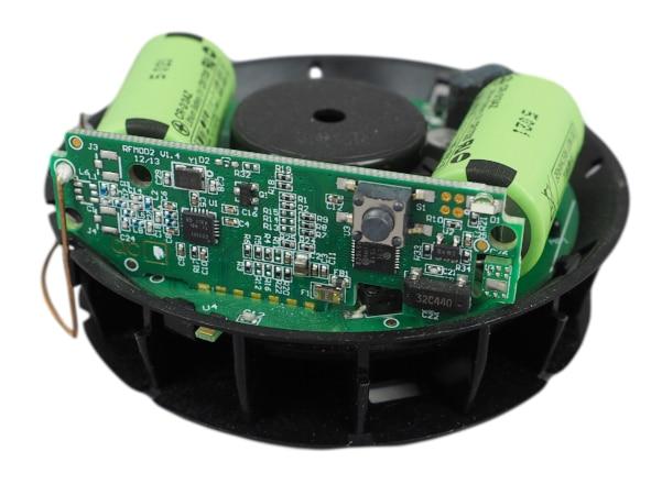 Rauchmelder Funkmodul integriert